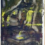 Pavoni, Ölpapier, 1988, 51 x 71 cm