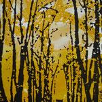 Fächerallee, 2000, Mischt./LW,100 x 150 cm
