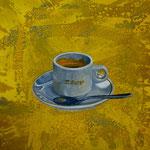 Malongo, 1997,Mischtechnik/LW, 139 x 101 cm 900,--€