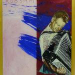 """Rübsam, 1991, Hgl, 43 x53 cm, 280,-€, Aus der Serie """"Freunde und Bekannte"""""""