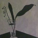 Maiglöckchen,1993, Öl/LW, 60 x 70 cm
