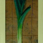 Porree, 2001, Hgl, 31 x 72 cm, 280,-€