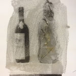 Wissen und Vermutung, Fotoemulsion auf Papier, 1992, 26 x35,5 cm, 10 Stück