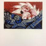 O.T., Farblinol, 1986, ca 40 x 50 cm, noch 4
