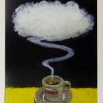 Kimbowolke, 2009, Hgl, 43 x 61 cm, 320,-€