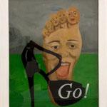 Go!  2013, 44 x 55 cm,Hgl, 350,--€