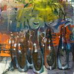 Flüssiges Brot, 1988, Mischt./LW, 120 x 160 cm