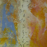 Abrechnung, 2000, Mischtechnik/LW, 100 x 155 cm, 980,--€