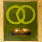 Ringe und Röggelchen, 2010, Hgl, 50 x 57 cm, 350,-€