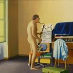 Erwin, 1982, Öl/LW, 110 x 100 cm, 800,--€