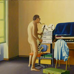 Erwin, 1982, Öl/LW, 110 x 100 cm