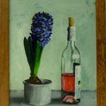 Hyazinthe und Rosé, 2001, Hgl, 41 x 54 cm, 290,- €