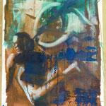 Propeller, Ölpapier, 1988, 65 x 87 cm