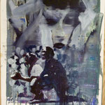 O.T., Ölpapier 1988, 58 x 79 cm