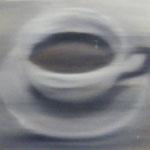 unscharfe Tasse, 1992, Öl/LW, 50 x 40 cm 150,--€
