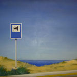 Sehenswürdigkeit, 2005, Öl/LW, 130 x 96 cm 900,--€