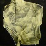 Komposition, DGN, 1991, Mischt./Fotoemulsion/LW, 100 x 100 cm