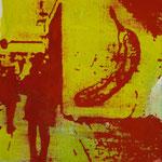 Banane, 1997, Mischt./LW, 60 x 70 cm