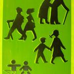 Lebenslauf, 2007, Mischtechnik auf Hartfaser, 66 x 96 cm, 250,-€