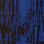 Fächer Allee nachts, 1998, Mischt./LW, , 110 x 140 cm