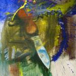 Messer, 1988, Mischt./LW, 120 x 160 cm