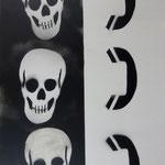 Ferngespräch, 2007, Mischtechnik auf Hartfaser, 66 x 96 cm, 250,-€