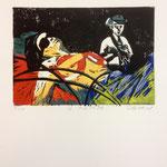 O.T. Farblinol, 1986, ca. 40 x 50 cm, noch 6