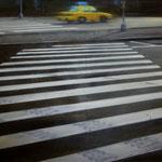 Yellow Cab, 2005, Öl/LW, 130 x 96 cm