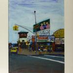 Strasse NY, 1998, Hgl, 62 x 79 cm, 630,-€