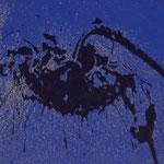 Sonnenblumen, 1998, Mischt./LW, 100 x 80 cm