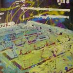 Flipper, 1989, Mischt./LW, 110 x 140 cm 1.100,--€