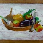 Gemüse, 1998, Hgl, 56x 56 cm, 380,-€