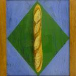 Baguette, 2003, Hgl, 43x51 cm 220,-€