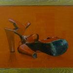 Rot ist die LIEBE, 2004, HGL, 71 X 52 cm, 450,-€