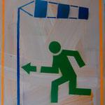 Gegenwind, 2007, Mischtechnik auf Hartfaser, 66 x 96 cm, 250,-€