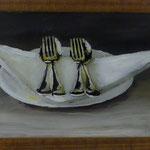 Bestecke, 2011, Hgl, 47 x 31 cm, 280,-€