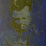 Chet, 1991, Mischt./Fotoemulsion/LW, 70 x 100 cm, Privatbesitz