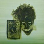 Facelifting, DGN, 1992, Mischt./Fotoemulsion/LW, 100 x 100 cm
