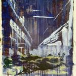 O.T., Ölpapier, 1988, 60 x 80 cm