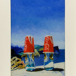 Coca Cola, 2007, Hgl, 50 x 75, 480,-e