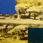 Nirwana Club, 1992, Mischt./Fotoemulsion/LW, 100 x 100 cm, 700,--€