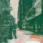 One Way, 1993, Mischt./LW, 60 x 70 cm