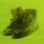 Atelier Serie 2, 1992, 25 Bilder, Fotoemulsion/LW, 70 x 50 cm, auf Anfrage