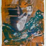 O.T., Ölpapier, 1988, 71 x 87 cm