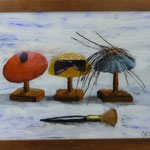 Hütchen, 2001, Hgl, 66 x 48, 420,-€