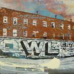 OWL, 1990, Mischt./LW, 160 x 120 cm