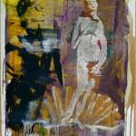 Botticelli, Ölpapier, 1988, 65 x 90 cm