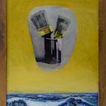 Pinsel über Meer, 2002, Hgl, 52 x 67 cm 380,-€