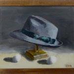 Männerhut, 2000, Hgl, 50 x 46 cm, 350,-€
