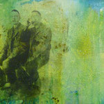 Dobloug, 1991, Mischt./Fotoemulsion/LW, 160 x 120 cm, 1.300,--€